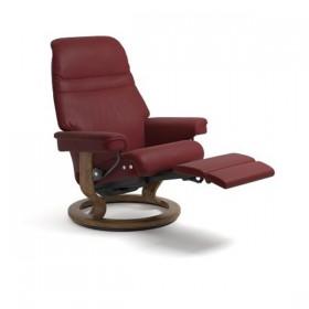 fauteuil Stressless avec repose-pieds électrique