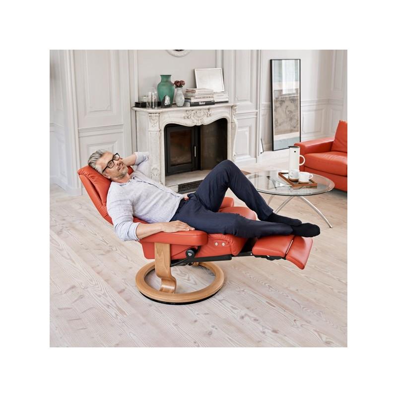 Stressless avec repose-pieds électrique